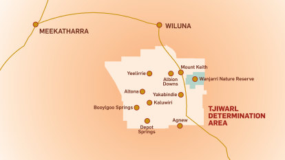Native title claims over WA 'dreaming' sites could become landmark case for Australia