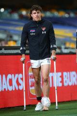 Ankle: Andrew McGrath.