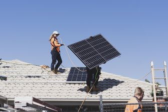 Homes with rooftop solar may have to start paying to export power into the grid at busy times.