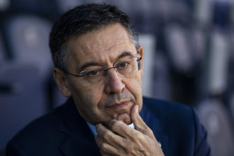 Former Barca president Josep Bartomeu.