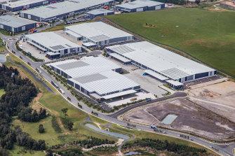 Goodman's Oakdale industrial estate in Sydney's west