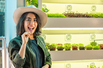 Serena Lee of Melbourne company Farmwall.