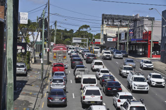 Infrastructure Australia identified Sydney as having the greater traffic congestion problem.