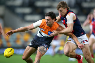 Tim Taranto is contracted at GWS until 2022 and his manager says he is staying.