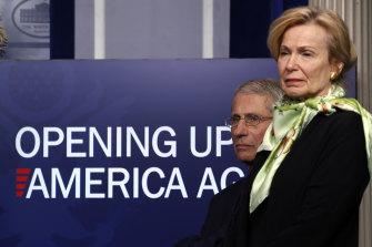 Dr Anthony Fauci and Dr Deborah Birx are members of the White House coronavirus taskforce.