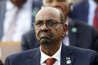Former president Omar al-Bashir was toppled after mass protests last year.