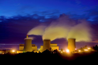 Coal-fired power in Victoria's LaTrobe Valley has a big carbon footprint.