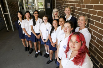 Students at Burwood Girls High are part of a plan to focus on student voice in NSW public schools.