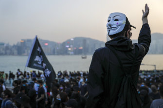 Protests continue in Hong Kong despite a recent pro-democracy landslide in district council elections.