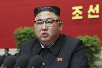"""North Korean leader Kim Jong-un admitted his country had """"immensely underachieved"""" at a ruling party congress in Pyongyang, North Korea on Tuesday."""