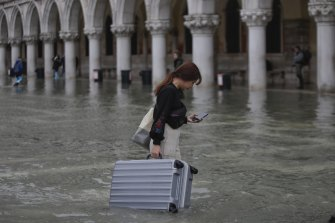 Tourism bookings fell in the wake of November's floods.