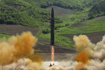 In 2017 North Korea launched an intermediate-range missile, which flew over Japan.