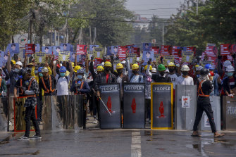 Since the Myanmar military seized power on February 1, millions have taken to the streets in anti-coup protests to demand their elected leaders be reinstated.