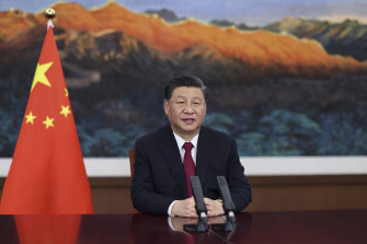"""Xi Jinping: """"What we need in today's world is justice not hegemony."""""""
