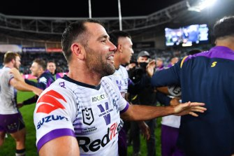 Smith became the oldest man to win an NRL grand final with victory over Penrith.