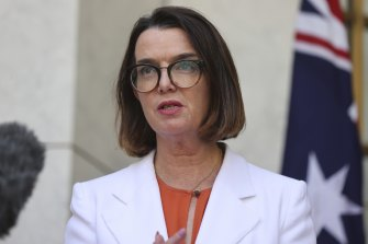 Minister for Women's Safety, Anne Ruston.
