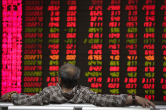 The CSI 300 index was higher today, along with a range of other Asian markets.