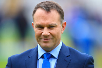 Michael Slater would form a handy opening partnership with Chris Rogers.