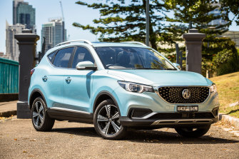 The MG ZS EV is Australia's most affordable electric vehicle, according to the RACQ's 2021 running costs survey.