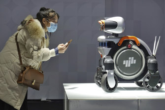 Robotics are a high priority in Beijing's 'Made in China' policy.