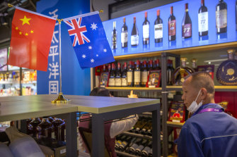 China last year imposed more than $20 billion in tariffs on Australian exports, including wine, as the relationship between the nations deteriorated.