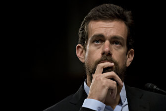 Mr Dorsey's role as chief executive of both Twitter and Square angers some people.