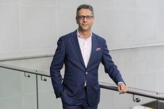 Vikram Pawah, CEO of BMW Group Australia.