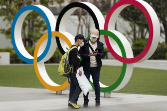 The Tokyo Olympics are due to begin in July.