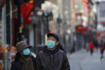 The number of new cases of the coronavirus was greater outside China than inside on Wednesday, as the country's containment measures begin to bear fruit.