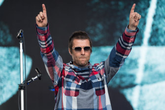 Liam Gallagher, on stage at Glastonbury earlier this year, seems at peace with the fact the new stuff doesn't match the old.