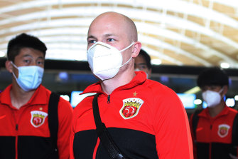 Getting to Doha for the AFC Champions League was a mission for Aaron Mooy.