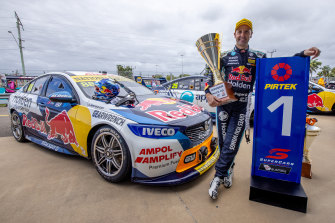 Jamie Whincup hopes to further improve his position in the championship this weekend.