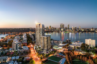 Finbar chairman John Chan says the number of apartments on the Perth market could start to tighten with rising material costs and difficulties in developers not meeting pre-sales levels.