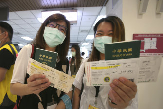 """Taiwan's old passport featured """"Republic of China"""" in large letters across the front and was blamed for causing confusion during the pandemic."""
