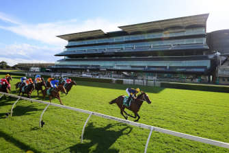 Masked Crusader wins like a $1.80 favourite should for Team Hawkes at Randwick.