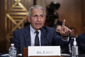 Top infectious disease expert Dr Anthony Fauci.