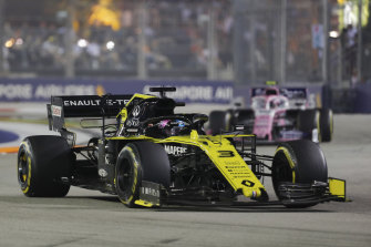 Daniel Ricciardo finished 14th in Singapore.