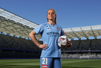 Ellie Carpenter is a key signing for Melbourne City.