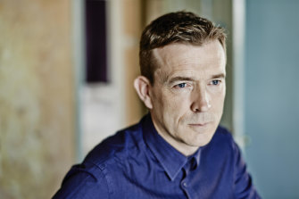 David Mitchell stores expressions he overhears in a 'language reservoir' so he can make use of them in his fiction.