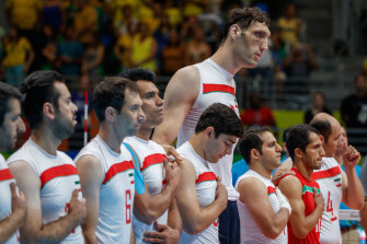 Iranian sitting volleyball player Morteza Mehrzad is the second-tallest man in the world.