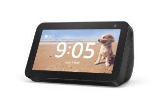 Amazon's Echo Show 5, smart alarm clock.