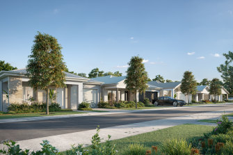 Counting on a thriving business: Stockland's planned Thrive land lease community.