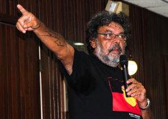 Aboriginal leader John Lyle Christophersen.