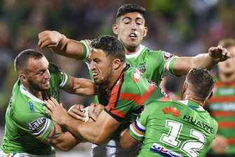 A shoulder injury has forced a premature end to Sam Burgess' career.