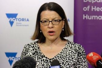 Former Victorian health minister Jenny Mikakos.