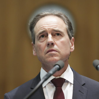 Health Minister Greg Hunt said closing the border to China was one of the biggest one-day decisions a government had made in 50 years.