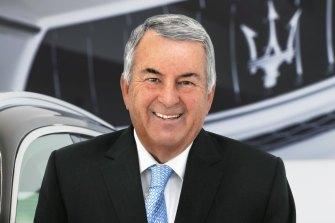 Canberra car dealer John McGrath.