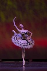 """Jasmin Forner in """"Coppelia"""". Australian Ballet School 2017."""