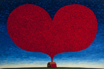 Dean Bowen, <i>The House of Love (Nocturnal)</i> 2016, inNew paintings, prints and sculptures at Beaver Galleries.