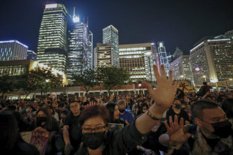 More than a third of protesters arrested in Hong Kong this month have been students.